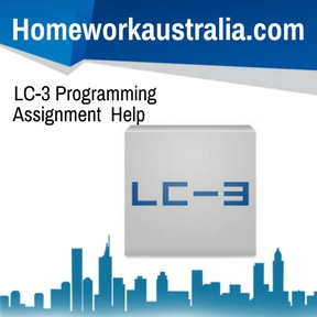 LC-3 Programming Assignment Help