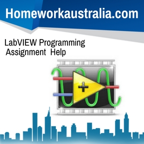 LabVIEW Programming Assignment Help