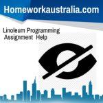 Linoleum Programming