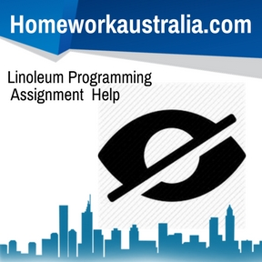 Linoleum Programming Assignment Help