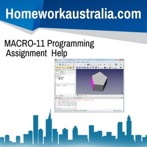 MACRO-11 Programming Assignment Help