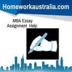 MBA Essay