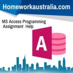 MS Access Programming