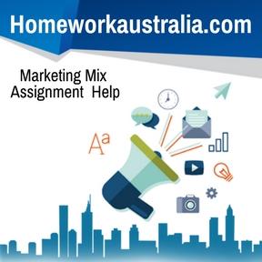 Marketing Mix Assignment Help