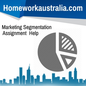Marketing Segmentation Assignment Help