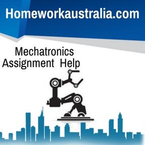 Mechatronics Assignment Help