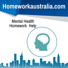 Mental Health Homework Help