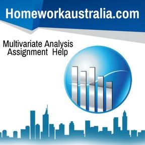 Multivariate Analysis Assignment Help