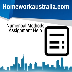 Numerical Methods Assignment Help