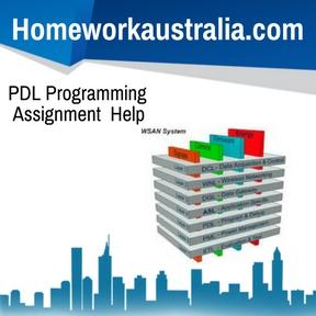 PDL Programming Assignment Help