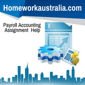 Payroll Accounting Assignment Help