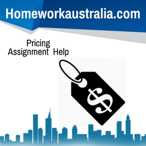 Pricing Assignment Help