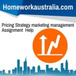 Pricing Strategy marketing management