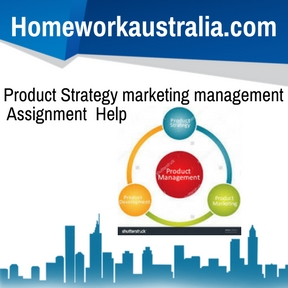 Product Strategy marketing management Assignment Help