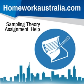 Sampling Theory Assignment Help