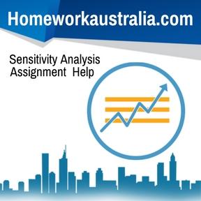 Sensitivity Analysis Assignment Help