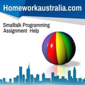 Smalltalk Programming Assignment Help