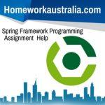 Spring Framework Programming