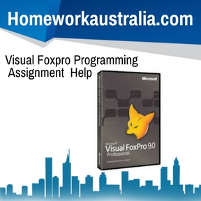 Visual Foxpro Programming Assignment Help