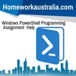 Windows PowerShell Programming