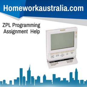 ZPL Programming Assignment Help