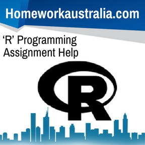 'R' Programming Assignment Help