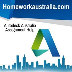 Autodesk Australia Assignment Help