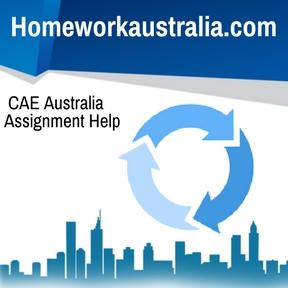 CAE Australia Assignment Help