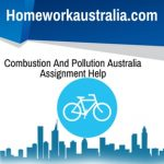 Combustion And Pollution Australia