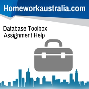 Database Toolbox Assignment Help