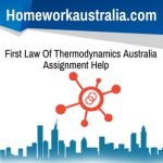First Law Of Thermodynamics Australia