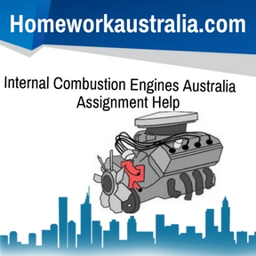 Internal Combustion Engines Australia Assignment Help