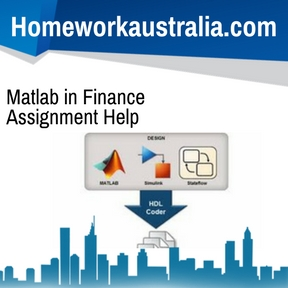 Matlab in Finance Assignment Help