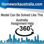 Model Can Be Solved Like This Australia