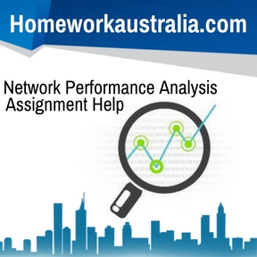 Network Performance Analysis Assignment Help