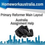 Primary Reformer Main Layout Australia