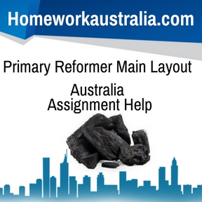 Primary Reformer Main Layout Australia Assignment Help