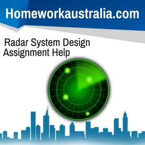 Radar System Design Assignment Help