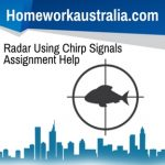Radar Using Chirp Signals