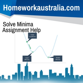 Solve Minima Assignment Help