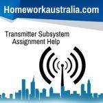 Transmitter Subsystem