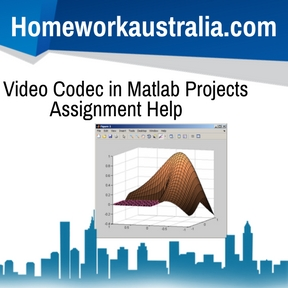 Video Codec in Matlab Projects Assignment Help